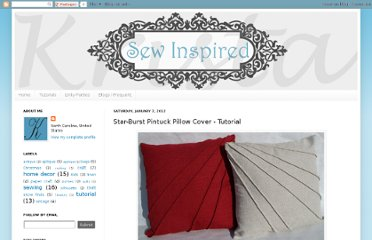 http://kristasewinspired.blogspot.com/2012/01/star-burst-pintuck-pillow-cover.html