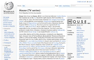 http://en.wikipedia.org/wiki/House_(TV_series)