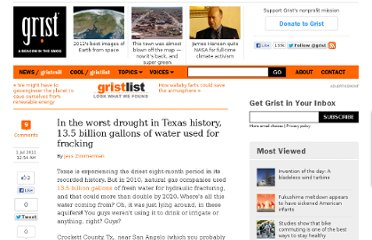 http://grist.org/list/2011-06-30-in-the-worst-drought-in-texas-history-gas-companies-use-13-5-bil/