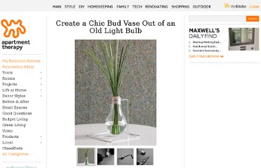 http://www.apartmenttherapy.com/create-a-chic-bud-vase-out-of-107978