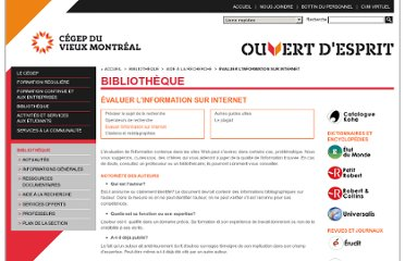 http://www.cvm.qc.ca/bibliotheque/aiderecherche/infointernet/Pages/index.aspx