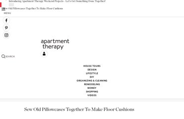 http://www.apartmenttherapy.com/sew-old-pillowcases-together-t-151312
