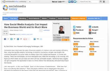 http://socialmediatoday.com/rodsmithibm/440092/how-social-media-analysis-can-impact-business-world-and-so-much-more