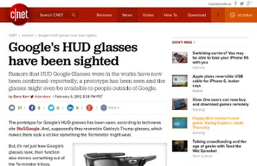 http://news.cnet.com/8301-1023_3-57372312-93/googles-hud-glasses-have-been-sighted/