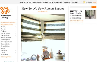 http://www.apartmenttherapy.com/how-to-no-sew-roman-shades-sco-149613