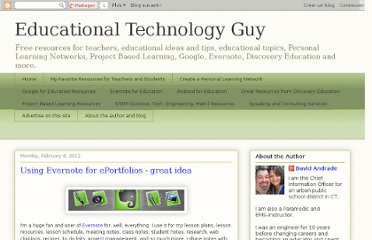 http://educationaltechnologyguy.blogspot.com/2012/02/using-evernote-for-eportfolios-great.html