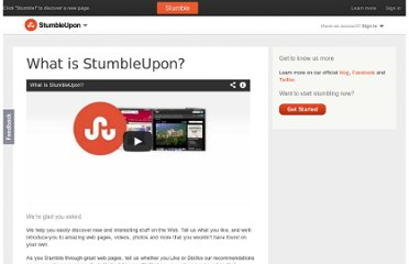 http://www.stumbleupon.com/about