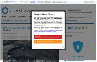 http://www.circleofblue.org/waternews/2010/world/epa-and-state-department-square-off-on-tar-sands-pipeline/