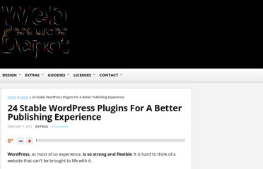 http://www.webresourcesdepot.com/24-stable-wordpress-plugins-for-a-better-publishing-experience/