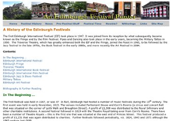 http://www.edinburghfestivalpunter.co.uk/HistoryOfFestivals.html