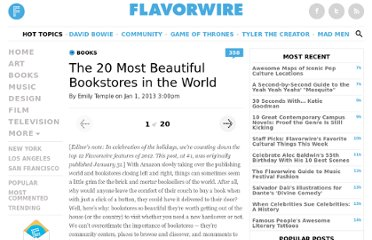 http://flavorwire.com/254434/the-20-most-beautiful-bookstores-in-the-world?all=1&fb_source=message