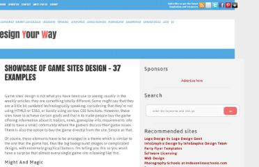 http://www.designyourway.net/blog/inspiration/showcase-of-game-sites-design-37-examples/