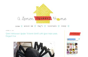 http://www.lemonsqueezyhome.com/2010/10/giant-halloween-spider-tutorial-craft.html