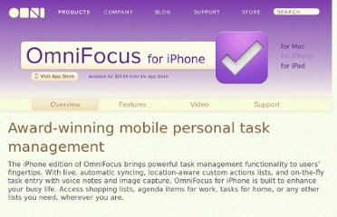 http://www.omnigroup.com/applications/omnifocus/iphone