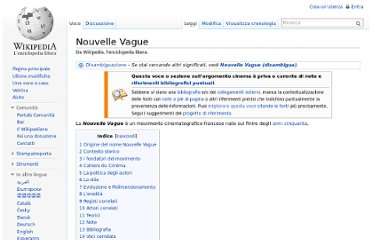 http://it.wikipedia.org/wiki/Nouvelle_Vague