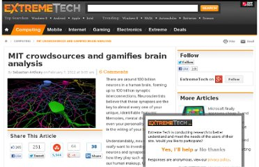 http://www.extremetech.com/extreme/117325-mit-crowdsources-and-gamifies-brain-analysis