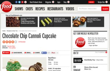 http://www.foodnetwork.com/recipes/chocolate-chip-cannoli-cupcake-recipe/index.html