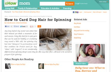 http://www.ehow.com/how_6027904_card-dog-hair-spinning.html