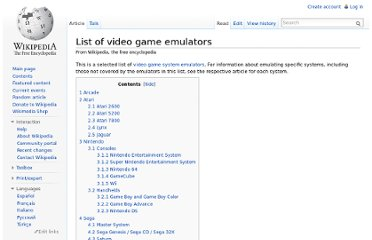 http://en.wikipedia.org/wiki/List_of_video_game_emulators