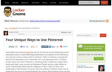 http://www.lockergnome.com/social/2012/02/07/four-unique-ways-to-use-pinterest/