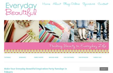 http://everydaybeautifulblog.com/make-your-everyday-beautiful-inspiration-party/