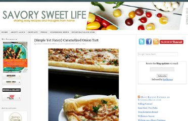 http://savorysweetlife.com/2010/04/caramelized-onion-tart/