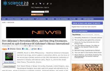 http://www.science20.com/newswire/new_alzheimers_prevention_efforts_and_nondrug_treatments_featured_25th_conference_alzheimers_disease_international