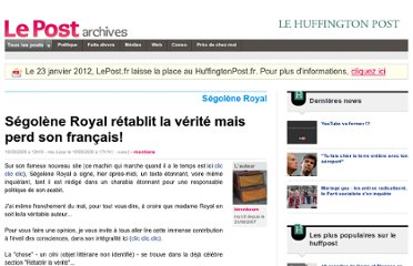 http://archives-lepost.huffingtonpost.fr/article/2009/09/19/1703372_segolene-royal-retablit-la-verite-mais-perd-son-francais.html
