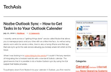 http://www.techasis.com/nozbe-outlook-sync-how-to-get-tasks-in-to-your-outlook-calender/