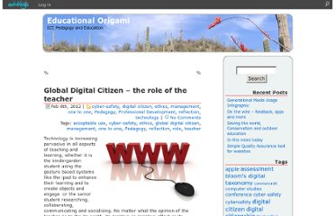 http://edorigami.edublogs.org/2012/02/08/global-digital-citizen-the-role-of-the-teacher/