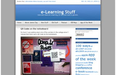 http://elearningstuff.net/2012/02/08/qr-codes-on-the-noticeboard/
