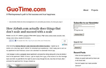 http://www.guotime.com/2011/06/how-airbnb-com-actually-does-things-that-dont-scale-and-succeed-with-a-scale/