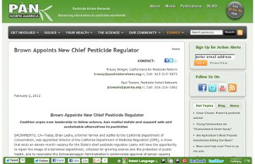 http://www.panna.org/methyl-iodide/press-release/brown-appoints-new-chief-pesticide-regulator