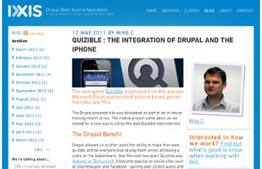 http://www.ixis.co.uk/blog/quizible-integration-drupal-and-iphone