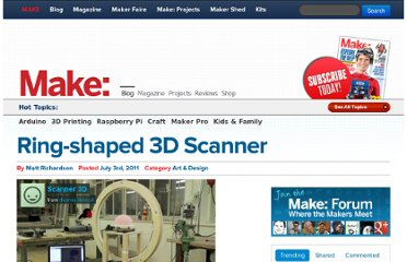 http://blog.makezine.com/2011/07/03/ring-shaped-3d-scanner/