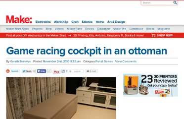http://blog.makezine.com/2010/11/02/game-racing-cockpit-in-an-ottoman/
