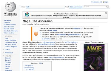 http://en.wikipedia.org/wiki/Mage:_The_Ascension