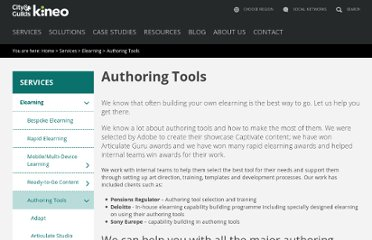 http://kineo.com/authoring-tools/rapid-e-learning-authoring-tools.html