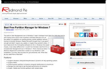 http://www.redmondpie.com/best-free-partition-manager-for-windows-7/