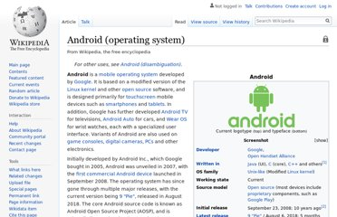 http://en.wikipedia.org/wiki/Android_(operating_system)