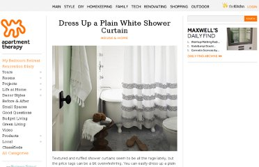http://www.apartmenttherapy.com/dress-up-a-plain-white-shower-157836