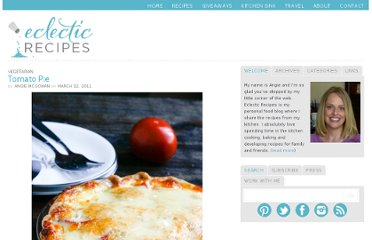 http://eclecticrecipes.com/tomato-pie