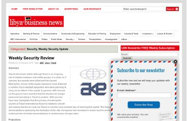 http://www.libya-businessnews.com/2012/01/10/weekly-security-review-7/