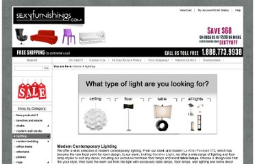 http://www.sexyfurnishings.com/Modern-Lighting-s/3.htm