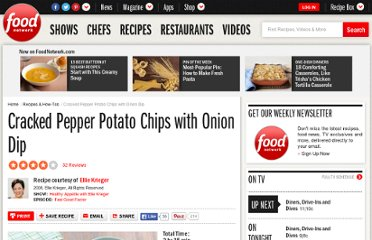 http://www.foodnetwork.com/recipes/ellie-krieger/cracked-pepper-potato-chips-with-onion-dip-recipe2/index.html