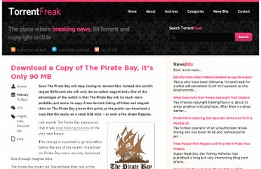 http://torrentfreak.com/download-a-copy-of-the-pirate-bay-its-only-90-mb-120209/