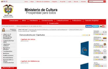 http://www.mincultura.gov.co/?idcategoria=46580
