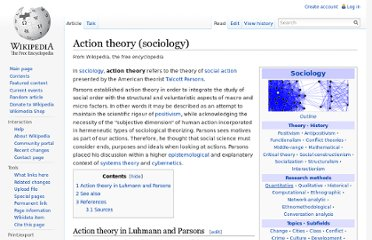http://en.wikipedia.org/wiki/Action_theory_%28sociology%29