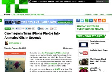 http://techcrunch.com/2012/02/09/cinemagram-turns-iphone-photos-into-animated-gifs-in-seconds/