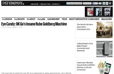 http://www.fastcompany.com/1567383/eye-candy-ok-gos-insane-rube-goldberg-machine